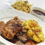 chicken and mushroom potatoes 2
