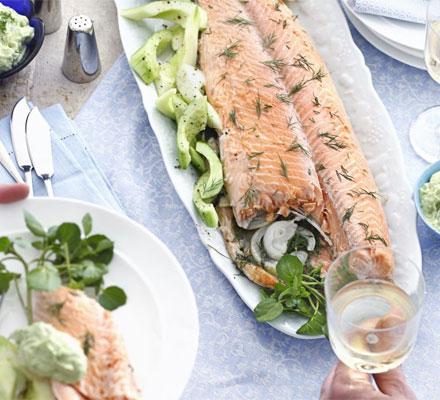salmonpoached